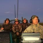 Steve_and_men_on_airboat_dusk