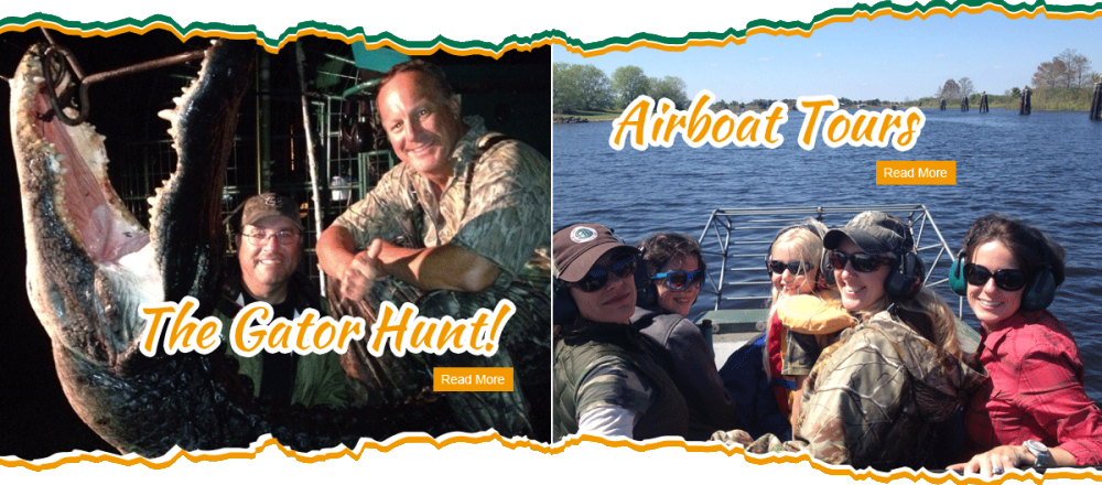 Duck Hunting, Gator Hunting, and Airboating